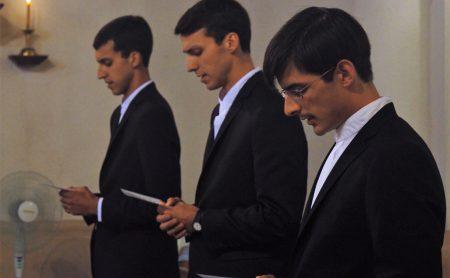 Primera Profesión - HH. Agustín Seguí, Mariano Seguí y Pablo Gutiérrez, MC