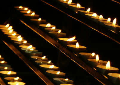 Velas candles prayer intentions