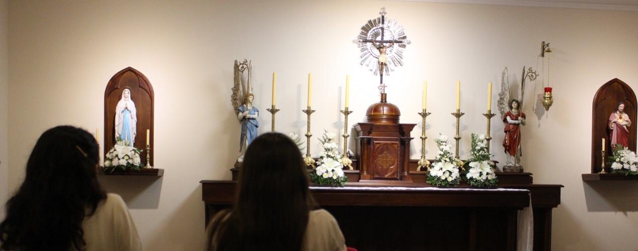 La capilla del Colegio Santo Tomás Moro