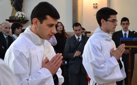 Ordenación sacerdotal P. Luis María y P. Gustavo